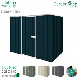 EasyShed 2.26x1.50 Garden Shed - Spacesaver