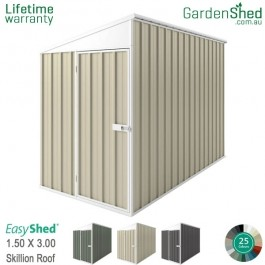 EasyShed 1.50x3.00 Garden Shed - SpaceSaver