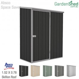Absco Spacesaver Garden Shed 1.52 x 0.78 - Monument