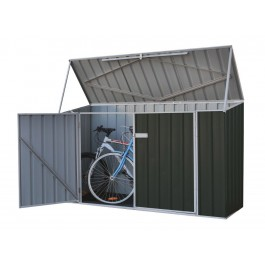 Absco Bike Shed 2.26x0.78 Garden Shed - Monument