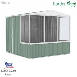 Absco Aviary 3 x 2.22 Pale Eucalypt