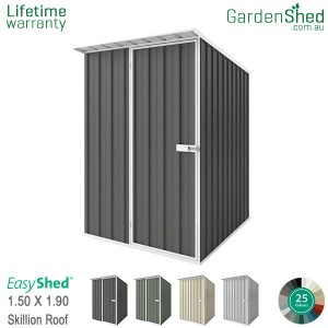 EasyShed 1.50x1.90 Garden Shed - Skillion