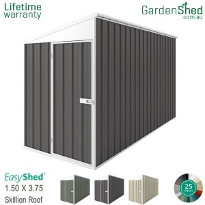 EasyShed 1.50x3.75 Garden Shed - SpaceSaver