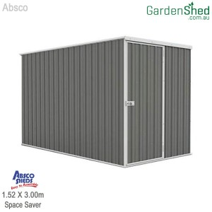 Absco Economy Garden Shed - Woodland Grey