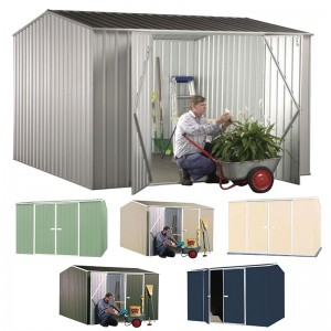 Garden Shed<br /> 3m x 2.26m - Premier Double Door